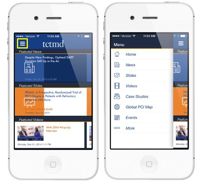 Mobile App Homescreen & Menu Designs | iPad, iPhone, & Android ...