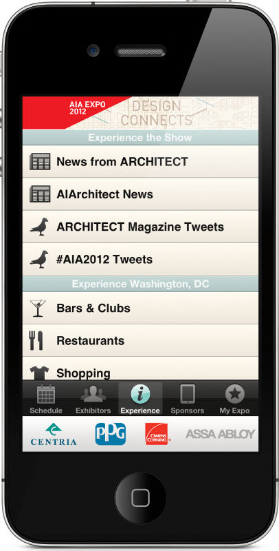Aia 2012 National Convention Show Planner Iphone Ipad