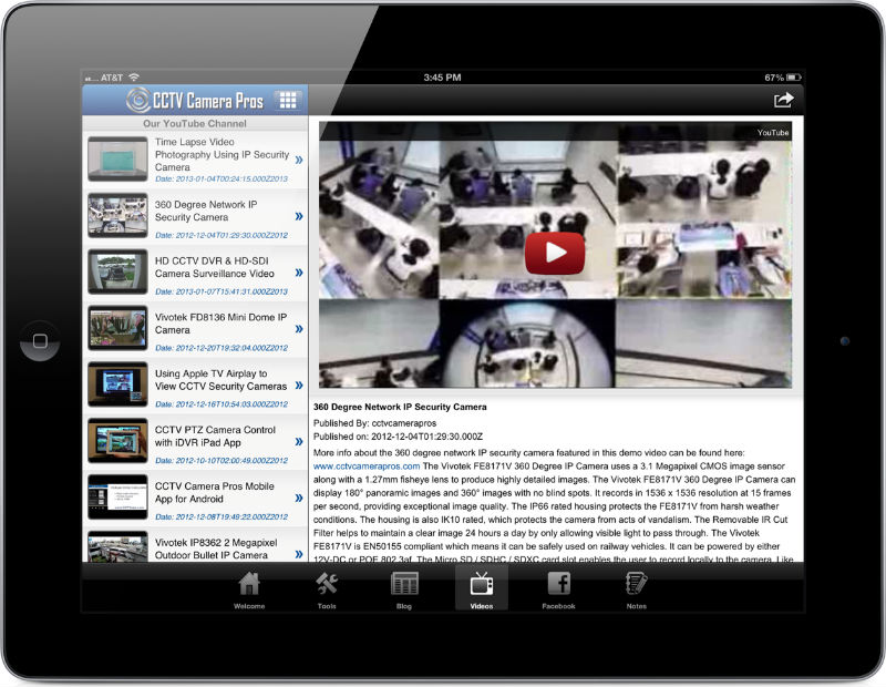CCTV Camera Pros Mobile App | iPhone, iPad, & Android