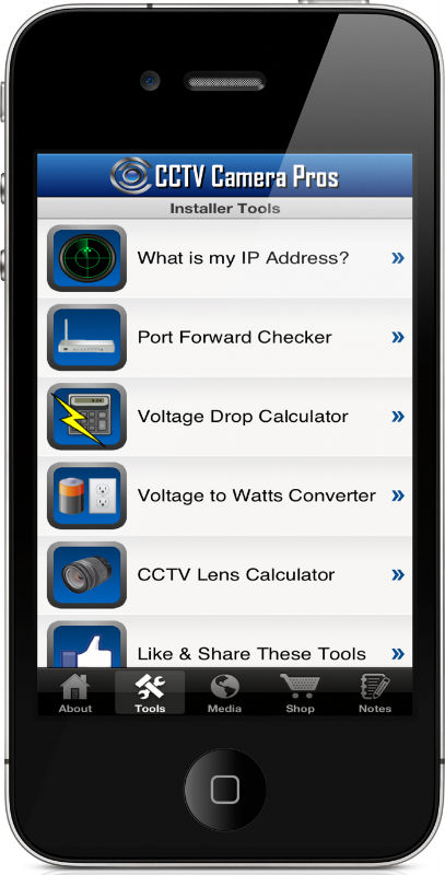 Cctv Camera Pros Mobile App Iphone Ipad Amp Android