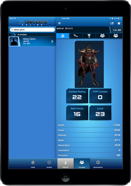 DC Universe Online Mobile App | iPhone, iPad, & Android ...