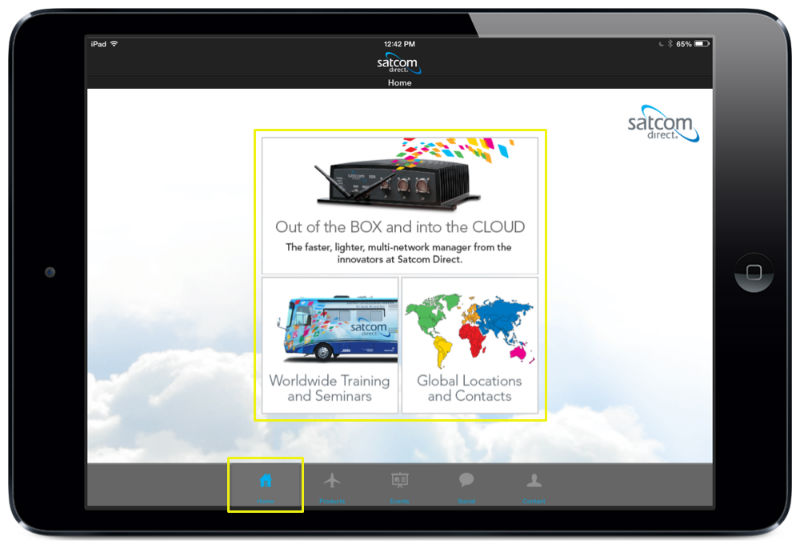 Mobile App Homescreen & Menu Designs   iPad, iPhone, & Android ...