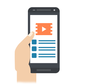 Play Videos in Mobile Apps