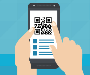 mobile app marketing QR code